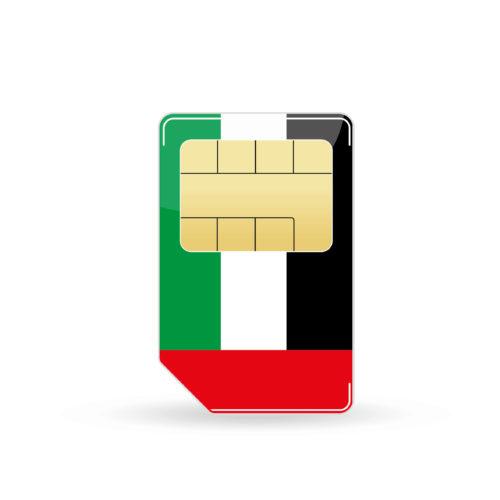 Vereinigte Arabische Emirate Simkarte
