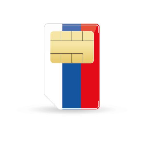 Russia prepaid sim card pay-as-you-go