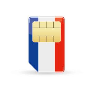 frankreich-simkarte
