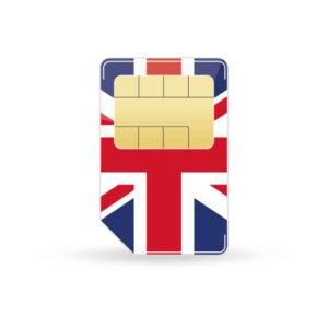 Grossbritannien Simkarte