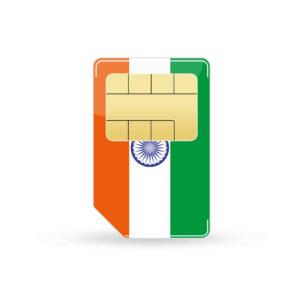 Indien Simkarte