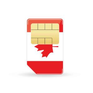 Kanada Simkarte