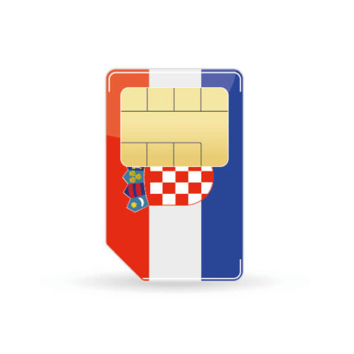 Kroatien Simkarte