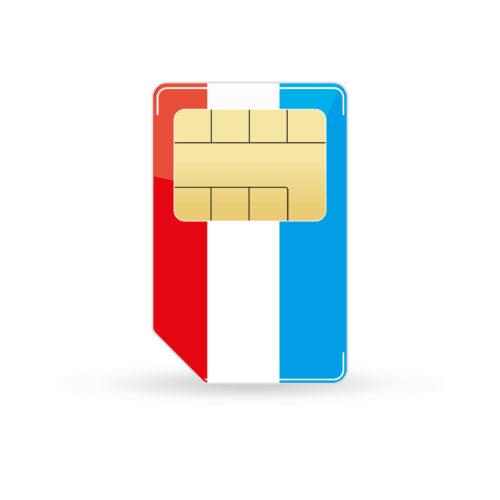 Luxemburg Simkarte