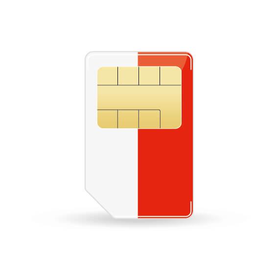 Sim Karte Bestellen.Polen Prepaid Sim Karte