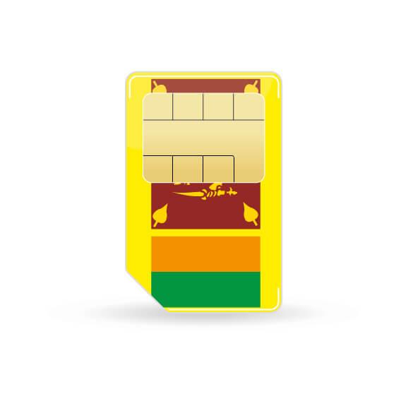 Cout Carte Sim Sri Lanka.Sri Lanka Prepaid Sim Card Pay As You Go