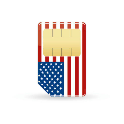 Usa Prepaid Sim Karte Datenflat Telefonie Fur Usa Urlaub