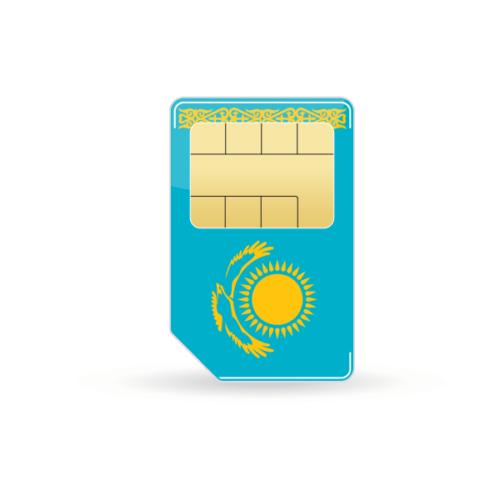 Kasachstan Prepaid Sim-Karte