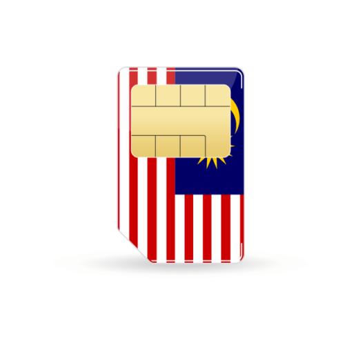 Malaysia Prepaid Sim-Karte