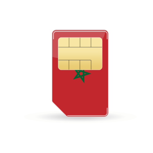 Marokko Prepaid Sim-Karte