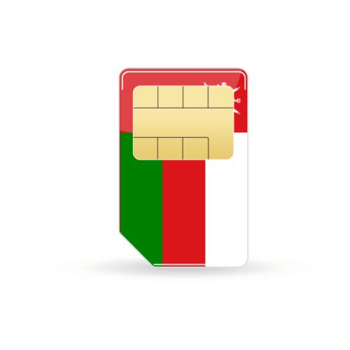 Oman Prepaid Sim-Karte