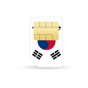 Südkorea Prepaid Sim-Karte