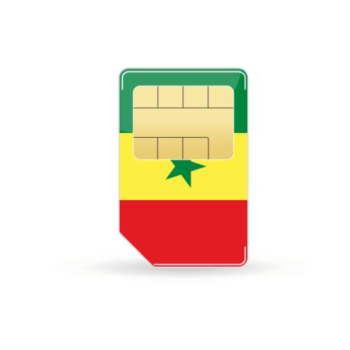 Senegal Prepaid Sim-Karte