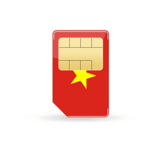 Vietnam Prepaid Sim-Karte