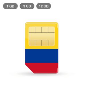 Kolumbien Simkarte